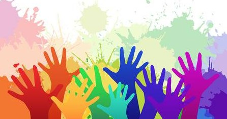 53533358-multicolored-rainbow-children-s-hands-on-background-of-watercolor-splashes-vector-element-for-your-c